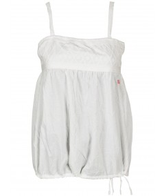 Sleeveless Embroidery Cotton Top