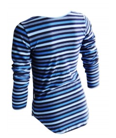 Blue Stripped Womens Top