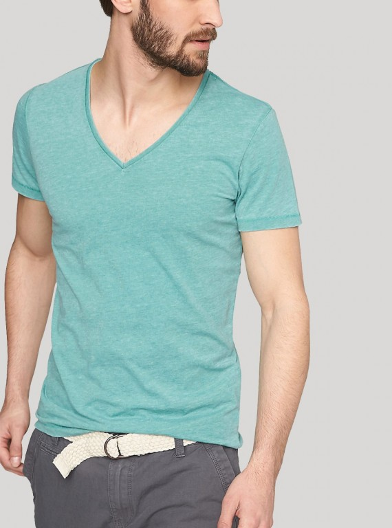 Special Edition Blue V Neck TShirt