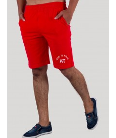 Red Jersey Shorts