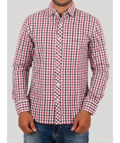 Slim Fit - Red Checked Shirt