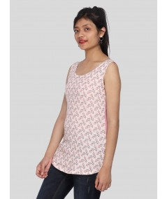 Happy Doll Graphic Print Top