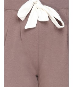 Brown Jersey Leisure Pant