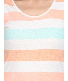 Multi Stripe Womens Top