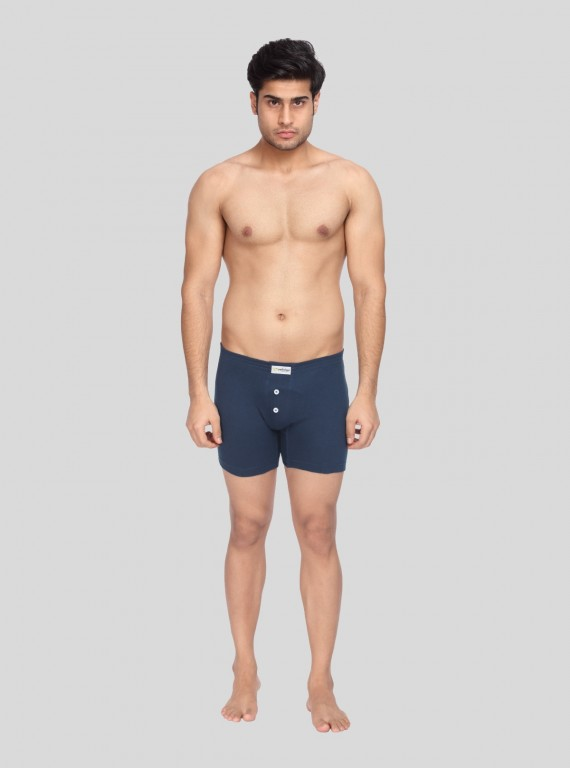 Navy Boxer buttoned Brief