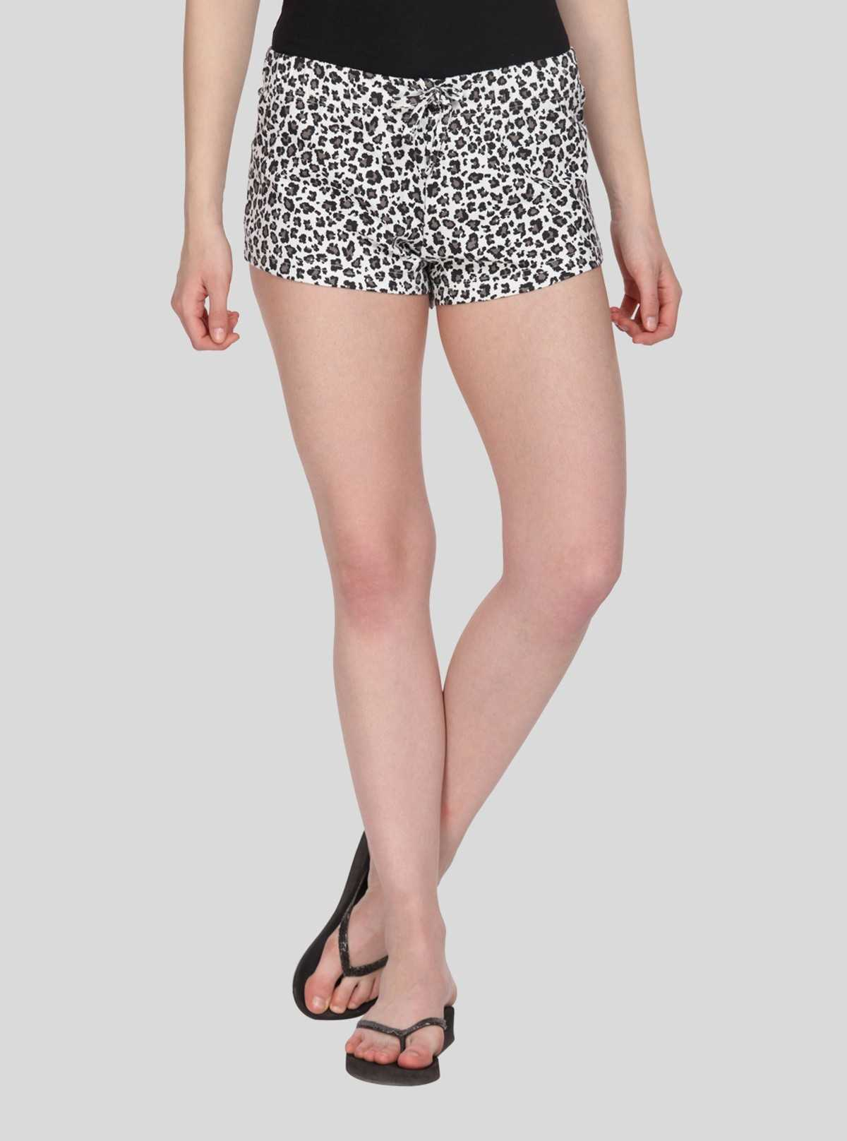 Blue Graphic Womens Shorts