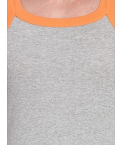 Orange Contrast Gym Vest