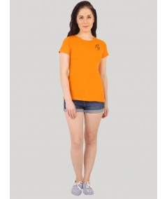 Short Sleeve Orange Top