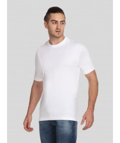 White Basic Crew Neck TShirt