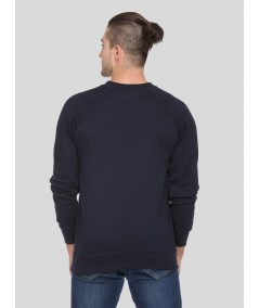 Navy Raglon Sweat Shirt