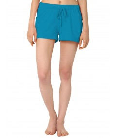 Turquiose Womens Shorts Boer and Fitch - 1
