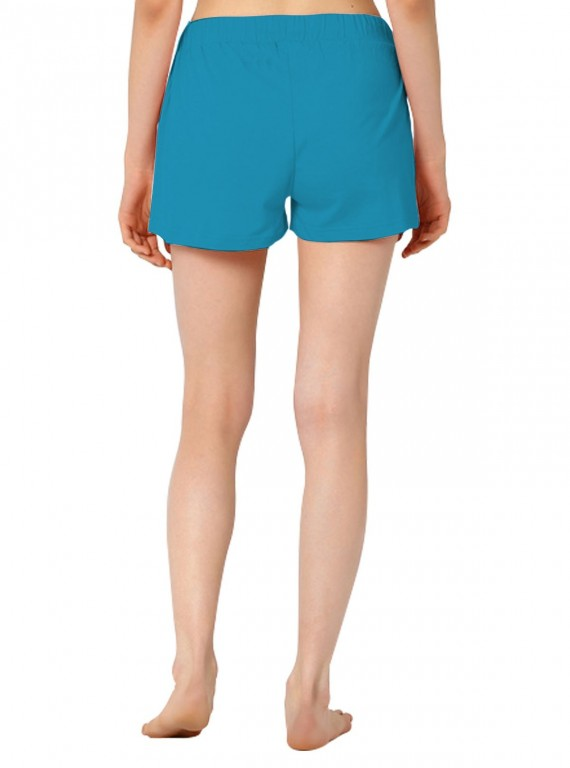 Turquiose Womens Shorts Boer and Fitch - 4