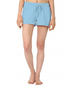 Sky Blue Womens Shorts Boer and Fitch - 2