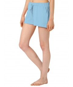 Sky Blue Womens Shorts Boer and Fitch - 3