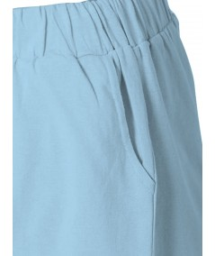 Sky Blue Womens Shorts Boer and Fitch - 7