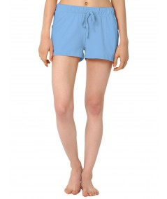 Light Blue Womens Shorts Boer and Fitch - 2