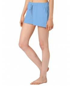 Light Blue Womens Shorts Boer and Fitch - 3