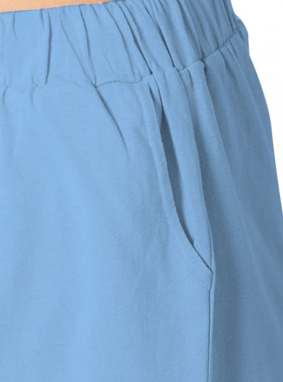 Light Blue Womens Shorts Boer and Fitch - 7