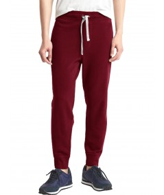 Burgundy Cuffed Jogger Boer and Fitch - 2