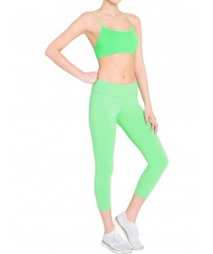 Womens Green Capri Boer and Fitch - 3