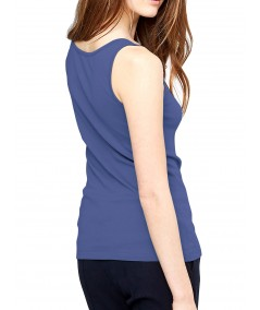 Blue Sleeveless Stretch Top Boer and Fitch - 4