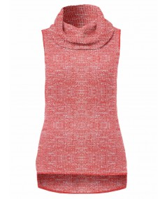 Pink Durby Knit High Neck Top Boer and Fitch - 2
