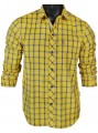 Regular Fit - Yellow Check Casual Shirt Boer and Fitch - 4