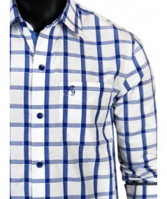 Regular Fit - Ink Blue Check Casual Shirt Boer and Fitch - 2