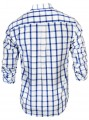 Regular Fit - Ink Blue Check Casual Shirt Boer and Fitch - 3