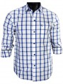 Regular Fit - Ink Blue Check Casual Shirt Boer and Fitch - 4