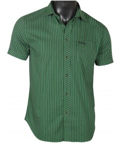 Slim Fit - Green Stripes Shirt Boer and Fitch - 1