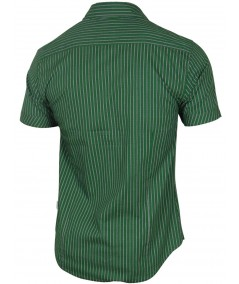 Slim Fit - Green Stripes Shirt Boer and Fitch - 3