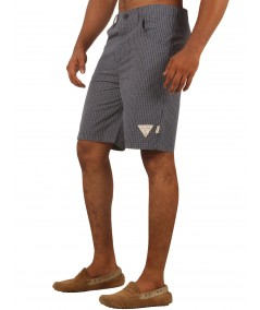 Blue Premium Woven Shorts Boer and Fitch - 3