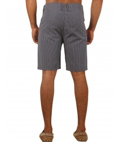 Blue Premium Woven Shorts Boer and Fitch - 4