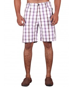 White Stripe Shorts Boer and Fitch - 1