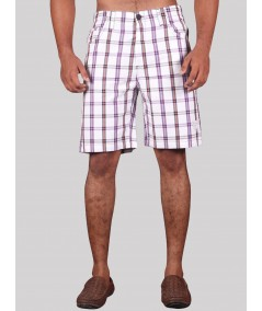 White Stripe Shorts Boer and Fitch - 2