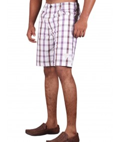 White Stripe Shorts Boer and Fitch - 3
