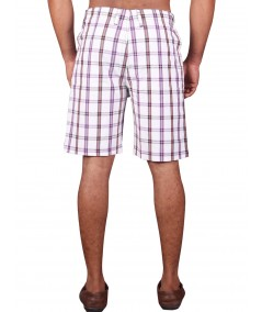 White Stripe Shorts Boer and Fitch - 4