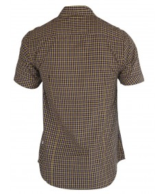 Slim Fit - Yellow Brown Checker Shirt Boer and Fitch - 3