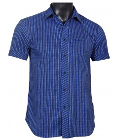 Slim Fit - Blue yellow stripped Shirt Boer and Fitch - 2