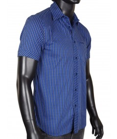 Slim Fit - Blue yellow stripped Shirt Boer and Fitch - 3