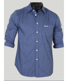 Slim Fit - Ink Blue Shirt Boer and Fitch - 1