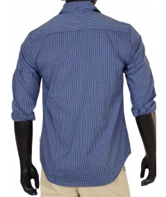 Slim Fit - Ink Blue Shirt Boer and Fitch - 3