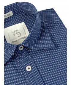 Slim Fit - Ink Blue Shirt Boer and Fitch - 4