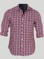Slim Fit - Checkered Red Shirt Boer and Fitch - 1