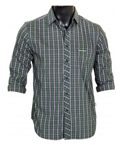 Slim Fit - Green Casual Shirt Boer and Fitch - 2