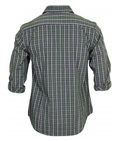 Slim Fit - Green Casual Shirt Boer and Fitch - 3