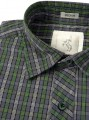 Slim Fit - Green Casual Shirt Boer and Fitch - 4