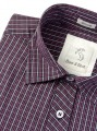 Slim Fit - Plum Long Sleeve Shirt Boer and Fitch - 5