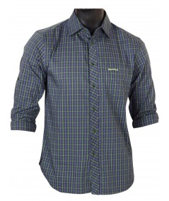 Slim fit - Green Full Sleeve Shirt Boer and Fitch - 2